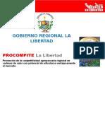 La Libertad Bases de Procompite 2014 2015