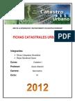 Informe Catastro Fichas
