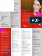 Customer Assistance Brochure