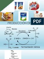 Producción de Yogurt