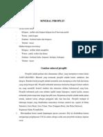 Mineral Piropilit