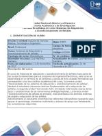 Syllabus Del Curso Sistemas de Adquisicion y Acondicionamiento de Señales