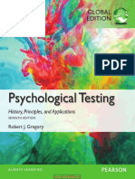 Psychological Testing History Principles and Applications Global Edition 7th Edition