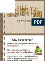 Cornell Notes Revised