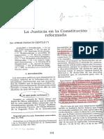 Gentile - La Justicia en la Constitución Reformada