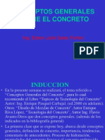 Conceptos Generales de Concreto