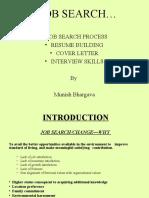 Resume Presentation 1