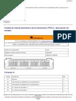 43EspecificacionesUnidad de Mando Electrónica de La Transmisión (TECU), Descripción De
