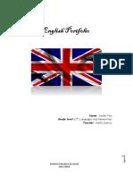 English Portfolio Feito