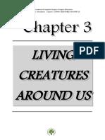 UNIT 3 - Living Creatures Around Us
