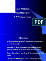 The Art of Case Writing