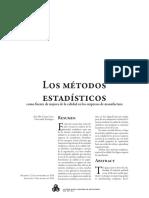 Metodos Estadisticos