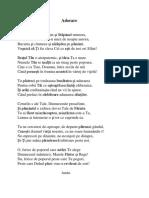 Adorare - Poezie