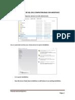 Tutorial Instalacion y Configuracion Sqlserver2012 Para Mdgp2015 v3.0