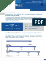 Determinación de La Deflexión - Manual Técnico