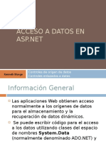 Acceso a datos en ASP.net