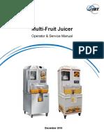 Multi Fruit Juicer