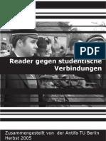Reader gegen studentische Verbindungen/Burschenschaften