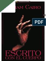 ESCRITO CON EL CUERPO_Por Miriam Cairo