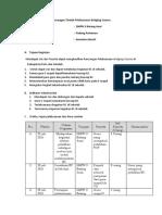 Rancangan Tindak Pelaksanaan Bridging Course Sridanti