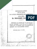 """Justo Maeso, """"El General Artigas y su época"""""""