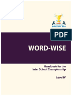 Word Wise-level IV