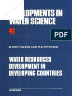 Water Resources Development in Developine Countries-David Stephenson and Margaret S. Petersen (Eds.)-