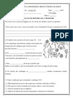 1ª AVALIAÇÃO DE HISTÓRIA DO 1º BIMESTRE.docx