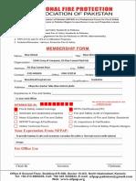 NFPAP Member Registration Form - Word