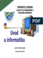 Uvod u Informatiku