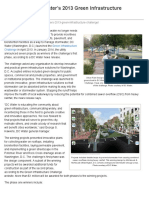Projects Win DC Water's 2013 Green Infrastructure Challenge | WEF News