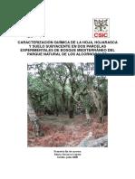 Caracterización química de la hoja, hojarasca y suelo.pdf