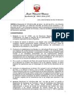 Res. 83-2018-JNE Inscripción de Listas de Candidatos ER