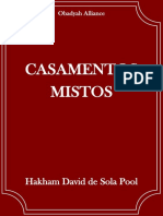 Casamentos Mistos - Hakham David de Sola Pool
