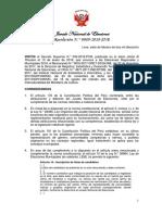 Res. 89-2018-JNE Número de Regidores y Cuotas Electorales ERM2018
