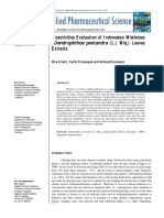 Bioactivities Evaluation Of