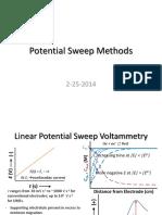 Voltametria Linear e Ciclica