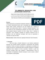Legislacao Ambiental Brasileira Uma Abordagem Conceitual