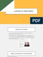 regulation vs free press