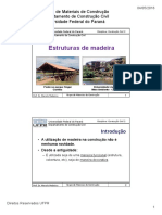 Estruturas Madeira