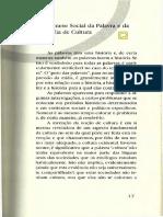 01 a Gênese Social Da Palavra e Da Ideia de Cultura - Denys Cuche