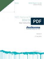 NBS JacksonsFencing SteelVerticalBarFencingSystem BIMObjectGuide