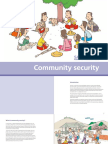 Myanmar Community Security Cartoon Booklet English