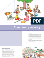 Myanmar Community Security Cartoon Booklet English