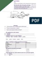 A Formiga e a Pomba Texto Português 4 Ano