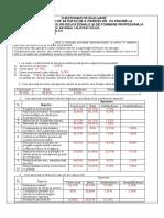 Procente 2013Chestionar de Evaluare a Satisfactiei Parintilor
