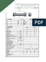 Oil Cooler DS Form