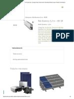 Riel Aluminio 5,2 m – XR-SR _ Punto Solar - Energía Solar _ Panel Solar Fotovoltaico_ Poste Solar _ Paneles Fotovoltaicos