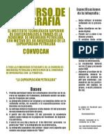 Bases Concurso Infografía