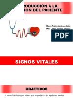 Introducción a La Atención Del Paciente - Signos Vitales